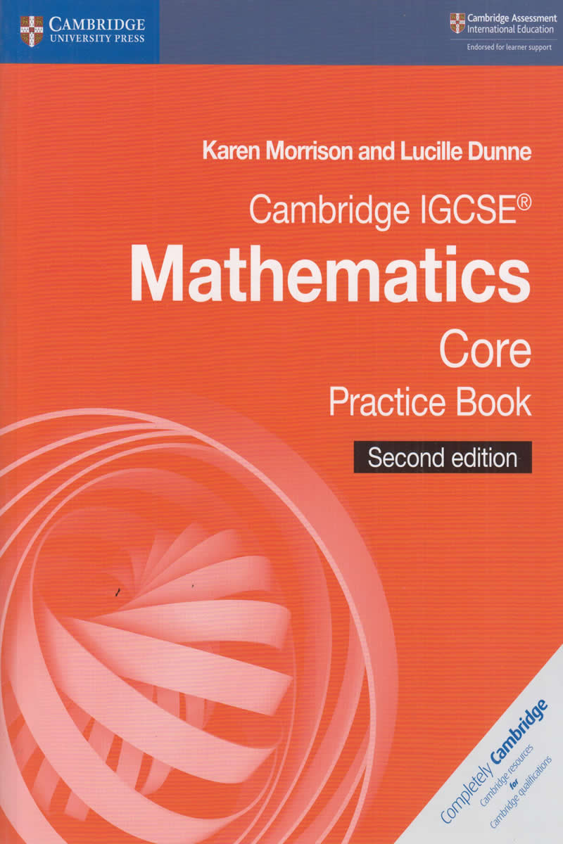 Cambridge IGCSE Mathematics Core Practice Book   Text Book Centre