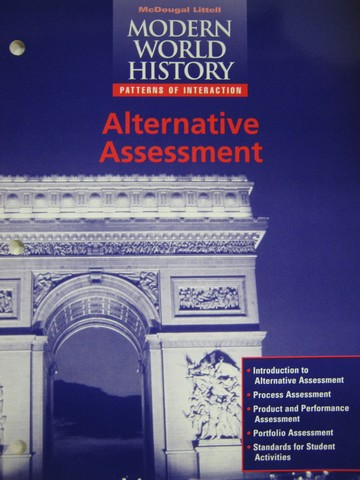 Modern World History Test Generator (binder) [0395939054