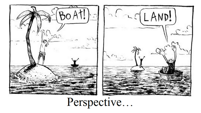 Do bilingual people have a different perspective on the