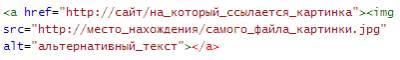 Код изображения с прописанным атрибутом alt