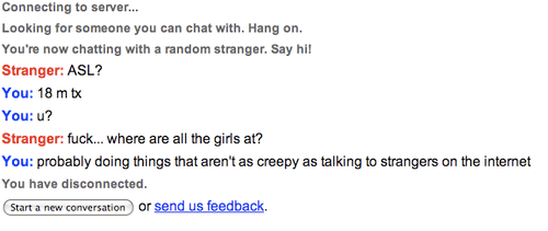 What is omegle girls