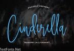 Cinderella Beautiful Calligraphy Font