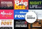 Display Font Bundle by Popsktaft