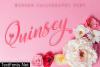 Quinsey Font