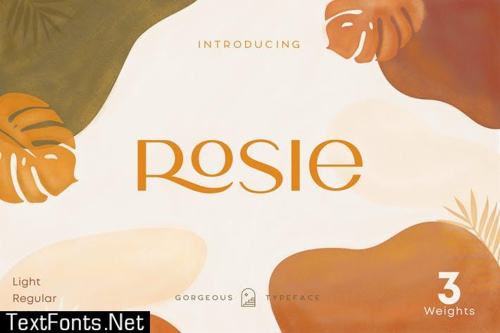 Rosie Sans - Gorgeous Typeface