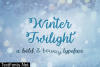 Winter Twilight Font