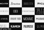 263 Awesome Fonts Collection
