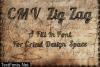 CMV Zig Zag Font