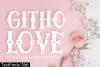 Githo Love Font