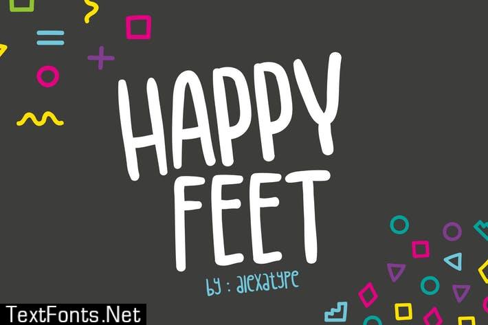 Happy Feet Children Font