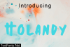 Holandy Font
