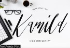 Kamild Calligraphy Font