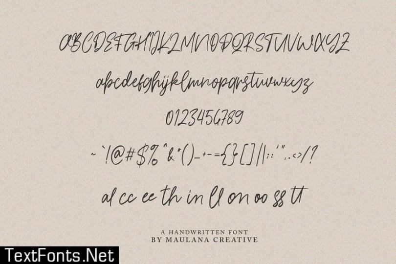 Locksmith Typeface