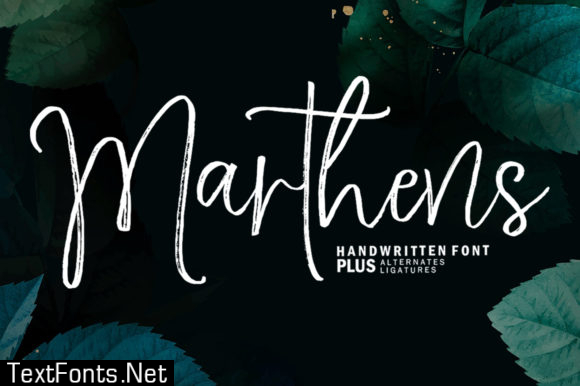 Marthens Font