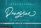 Pangoline | Handwriting Script 3717826