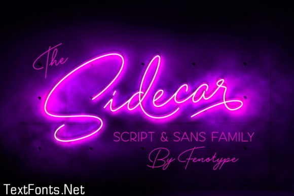 Sidecar Font