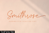 Smithrose Font