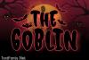 The Goblin Font