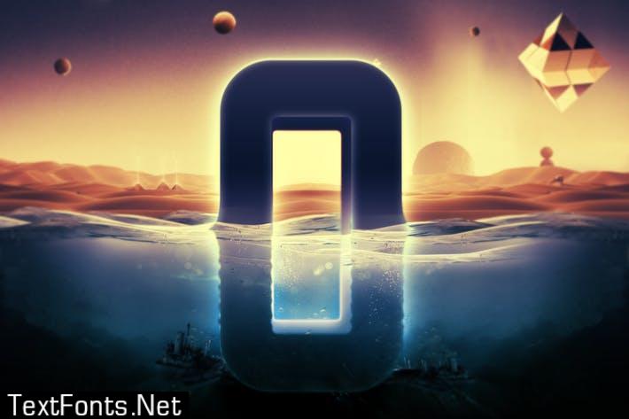 Underwater Text Logo Effect 5VHMWMR