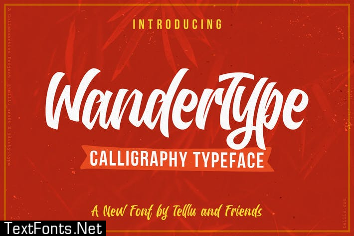 WanderType Font