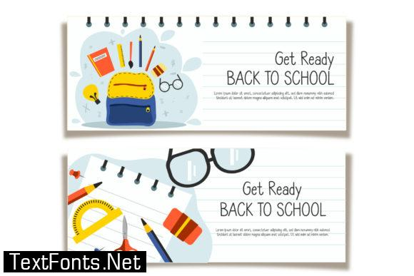 Back to School Font