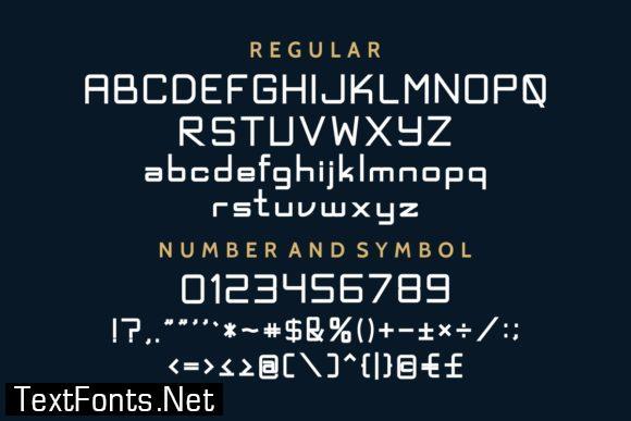 Exninja Font