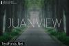 Juanview Font