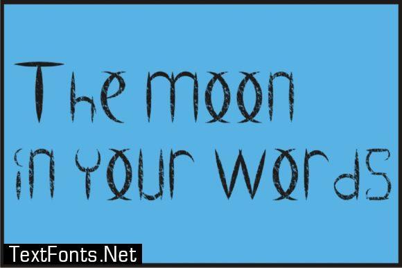Ancient Moon Font