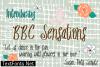 BBC Sensations Font