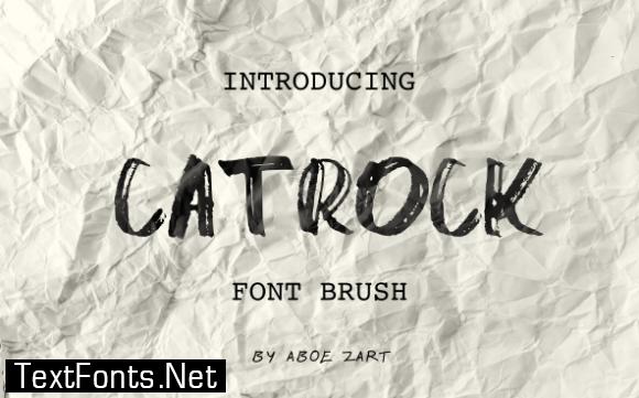 Catrock Font