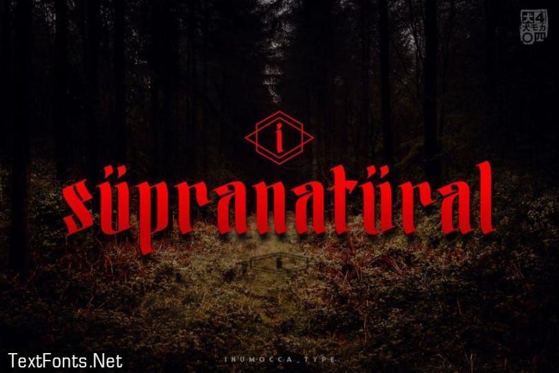 Sanekala Typeface
