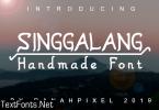 Singgalang Font
