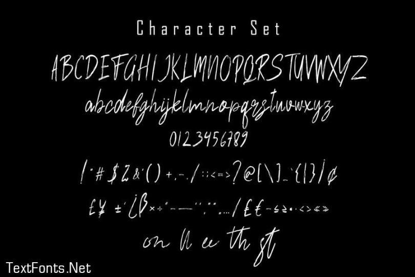 Sonstylee Handbrush Font
