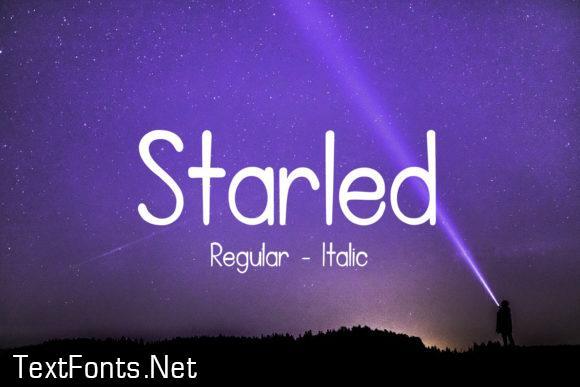Starled Font
