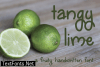 Tangy Lime Font