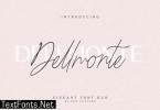 Dellmonte Duo Font