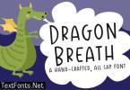Dragon Breath Font