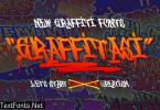 Grafitasi GJ - Display Font