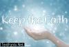Keep the Faith Font