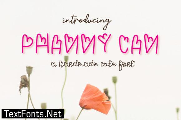 Phanny Can Font