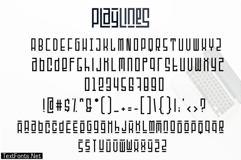 Playlines Typeface 2962806