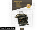 Underwood No. 5 Font