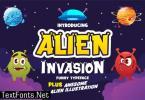 Alien Invasion Font