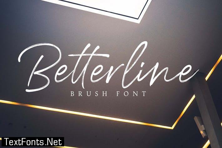 Betterline Font