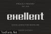 Exellent Font