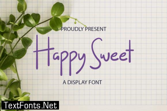 Happy Sweet Font