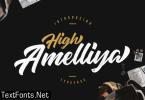 High Amelliya Font