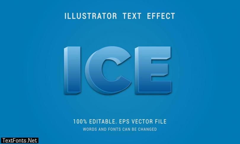 Ice Text Effect 1214964