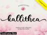 Kallithea Script Font