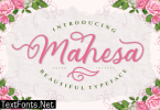 Mahesa Font
